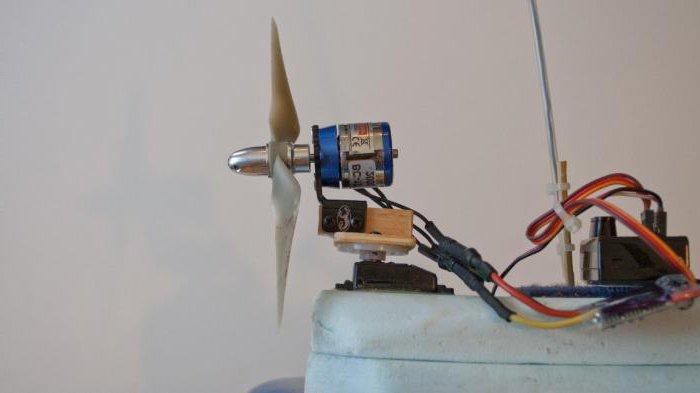 радиоуправляемый аэроглиссер своими руками