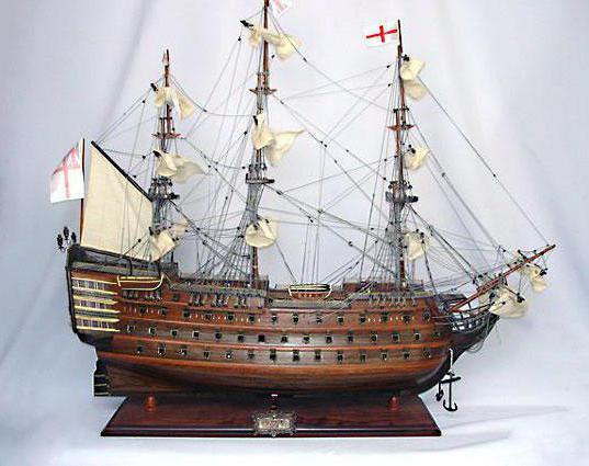 сборные модели кораблей из дерева