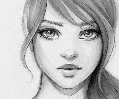 Картинку человека как рисовать карандашом поэтапно 13