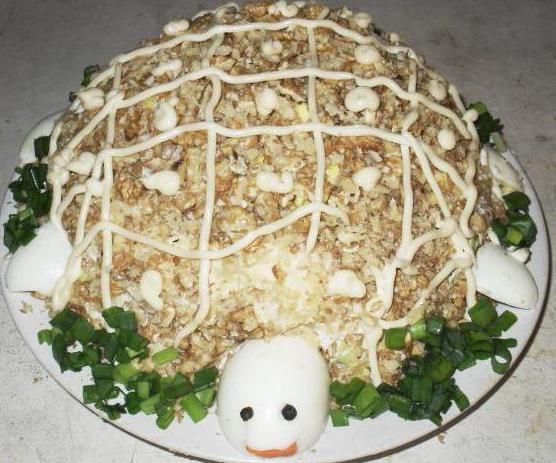 салат яблоко зеленое сыр рецепт