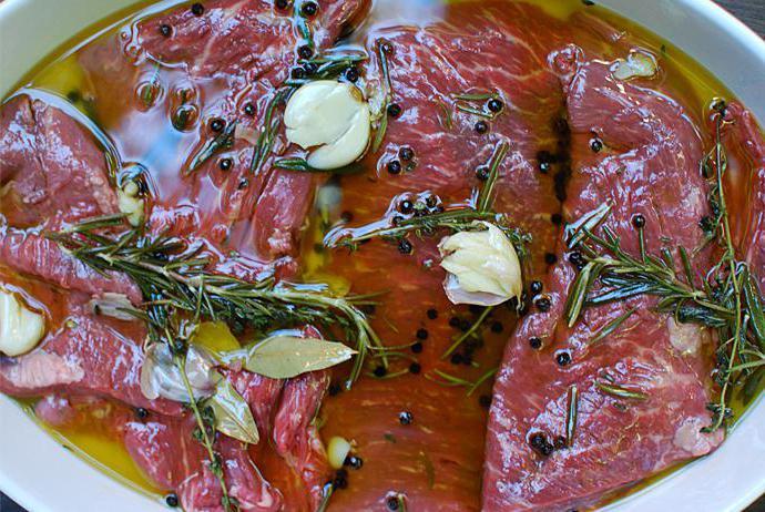 Для мяса маринад: лучшие рецепты