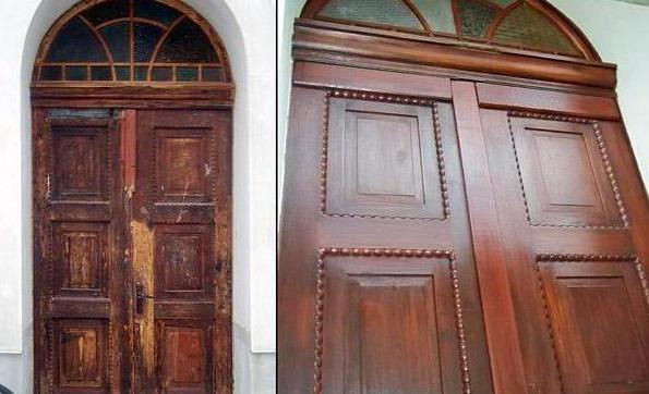 Оформление входной двери