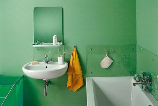 краска для покраски стен ванной