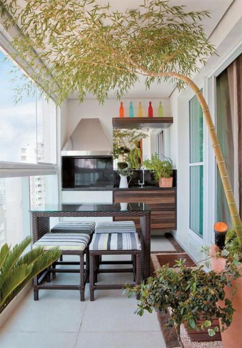 Балкон совмещен с кухней: идеи объединения пространства.