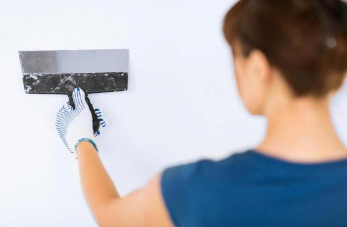 Технология отделки стен под покраску