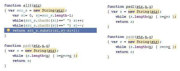 Обработка символов: метод JavaScript substring()