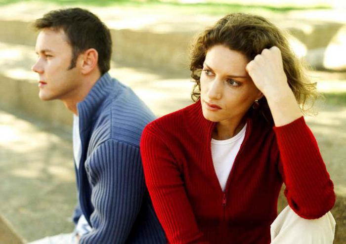 Стадии расставания у мужчин и женщин