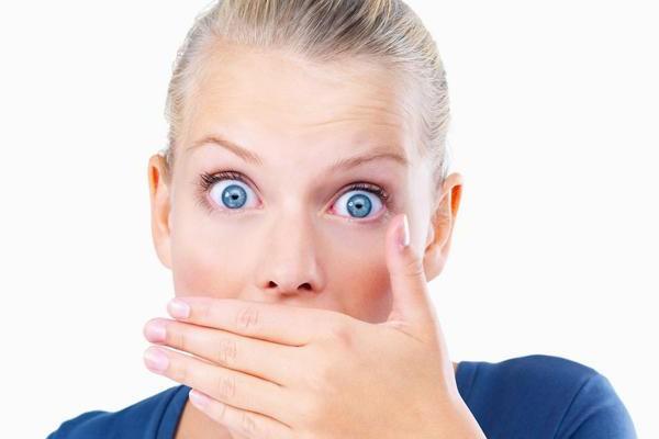 запах изо рта лечение яблочным уксусом отзывы