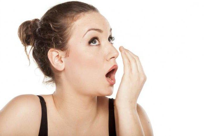 запах аммиака изо рта лечение