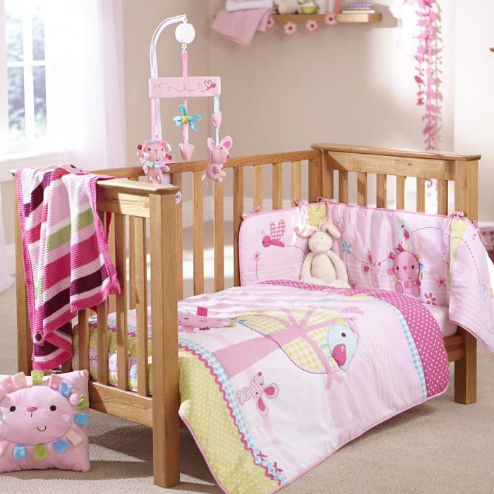 Бортик для детской кровати