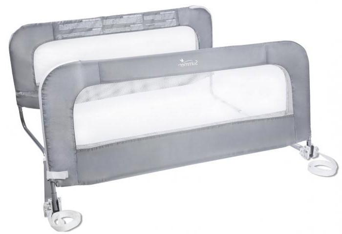 Бортик для детской кровати съемный