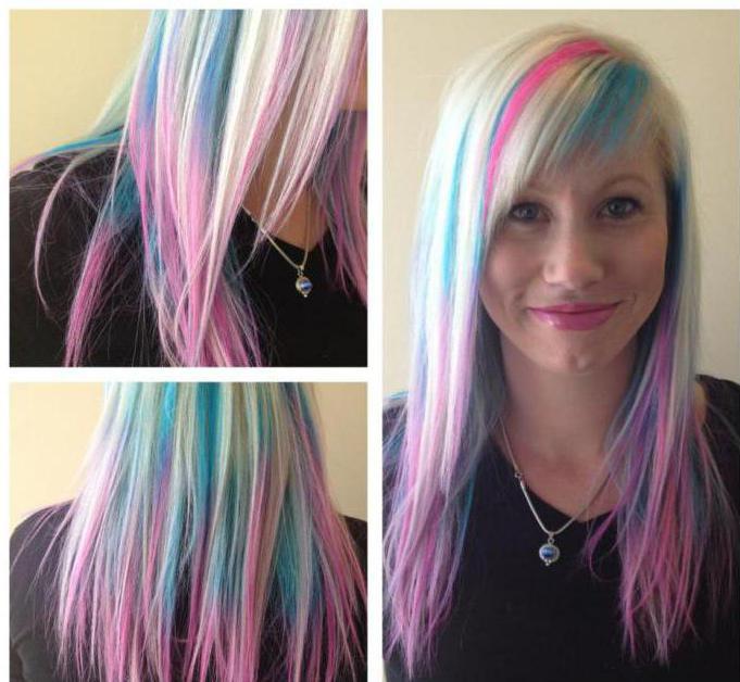 краска для волос смывающаяся водой с первого раза