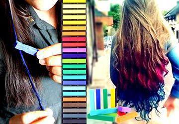 краска для волос смывающаяся водой фото