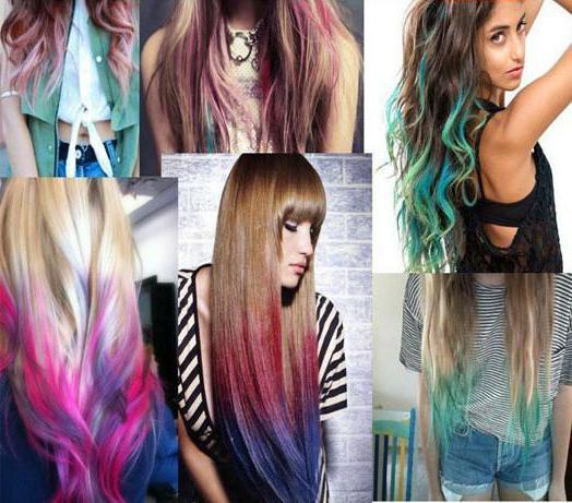 Смывающаяся краска для волос: какую выбрать?