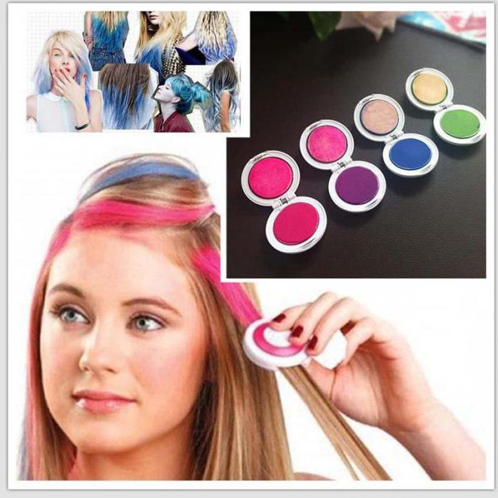 Краска для волос для детей смывающаяся