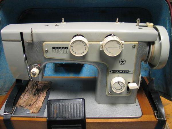 швейная машина подольск 142 инструкция