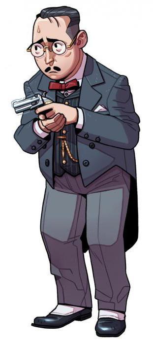 дерринджер пистолет сигнальный