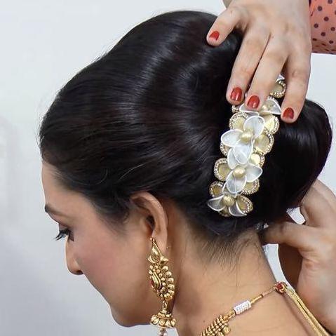 индийские прически на длинные волосы