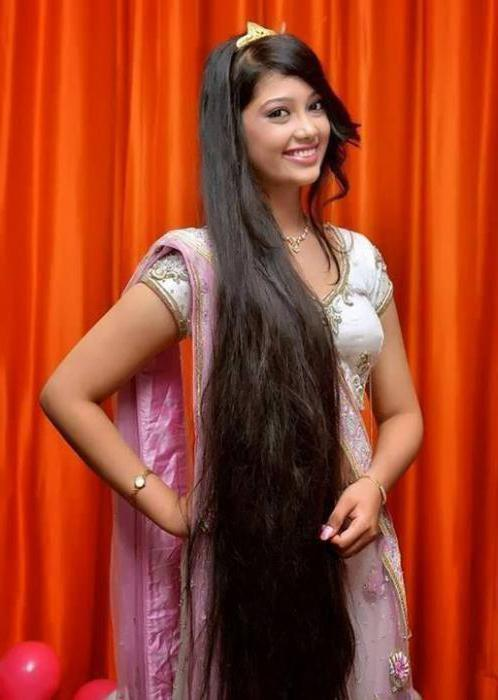 индийские прически на длинные волосы видео