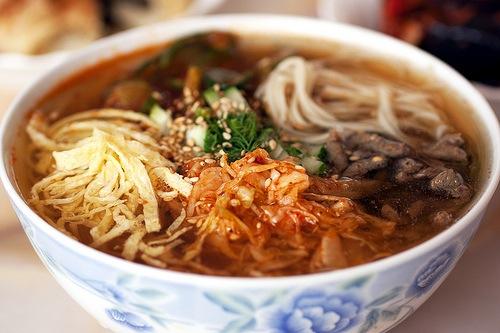 Популярное корейское блюдо