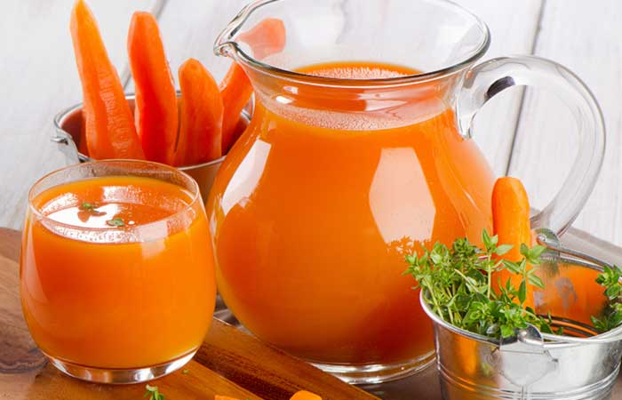 Carrot drink.
