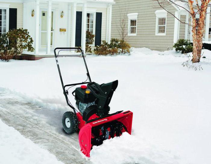 Снегоуборочные машины для дачи бензиновые