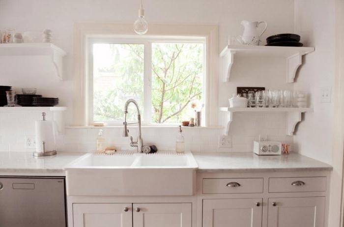 Кухня с окном в рабочей зоне проект