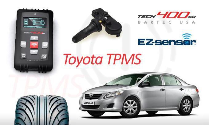 Система контроля давления в шинах tpms 200