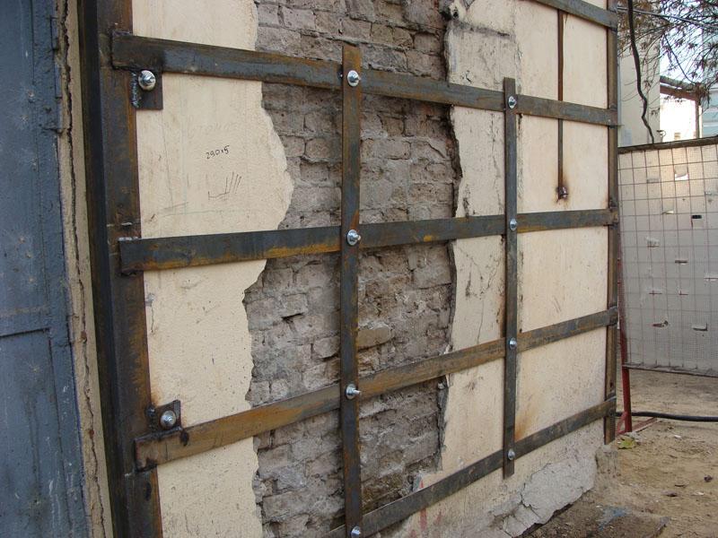 Brick wall reinforcement technology