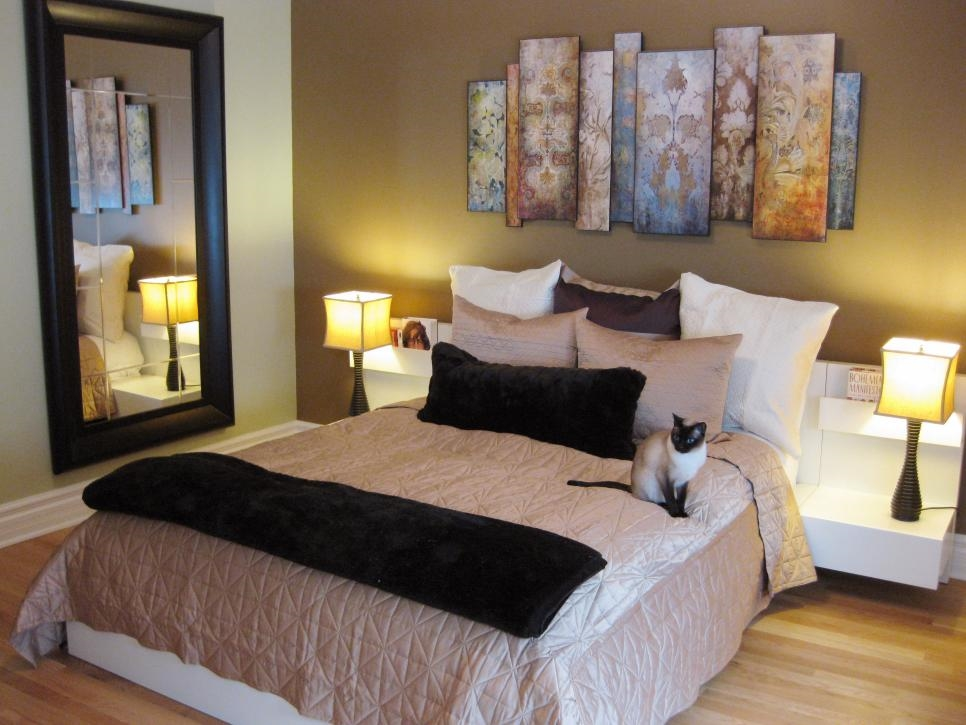 Простой интерьер спальни: выбор стиля и цветовой гаммы