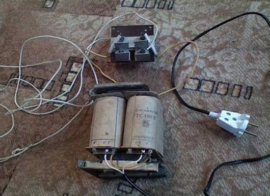 Трансформатор – обязательный элемент классической сборки зарядка для АКБ