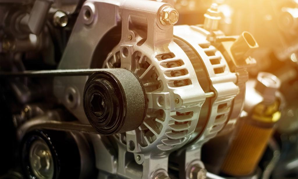Работа автомобильного генератора