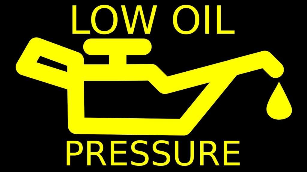 Неправильный уровень давления масла