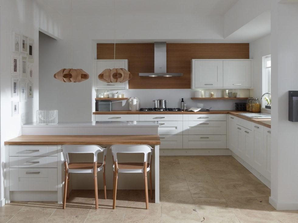 Сочетание бежевого цвета в интерьере кухни