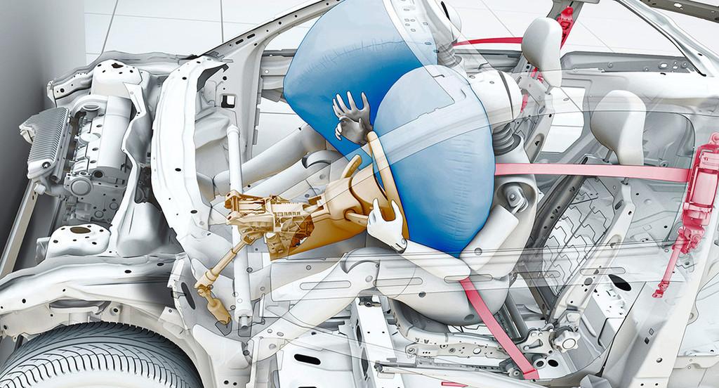 Как работают подушки безопасности в автомобиле