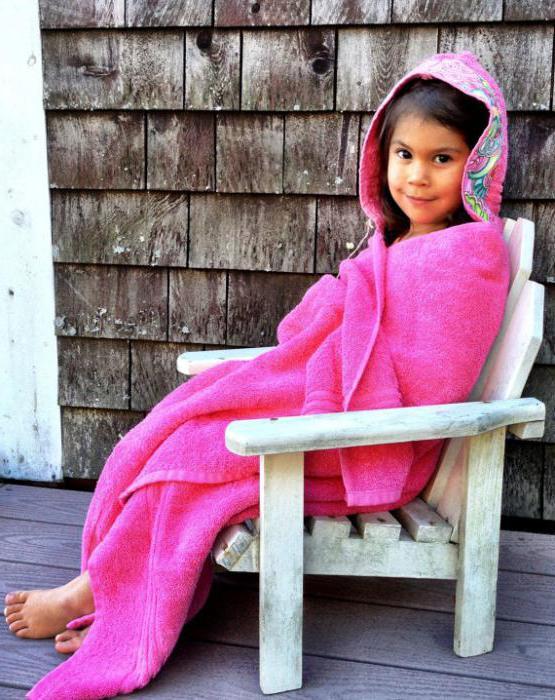Как сшить полотенце-пончо с капюшоном ребенку