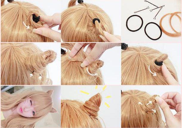 Как правильно сделать рожки на голове