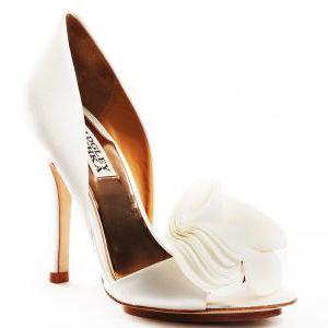 свадебные туфли от badgley mischka