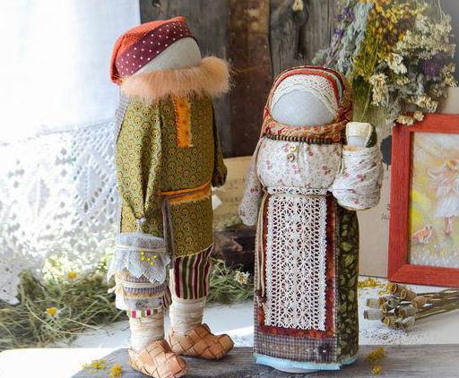 изготовление куклы зерновушки