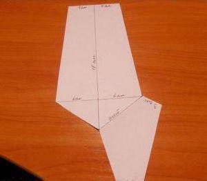 Как сшить детский галстук на резинке своими руками выкройка фото 408