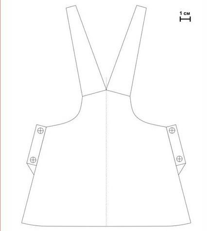 выкройка одежды для куклы Коннэ фото