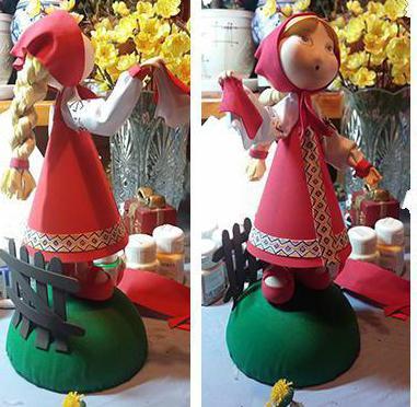 изготовление кукол из фоамирана