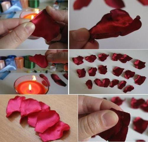 Поделки из лепестков роз своими руками для детей