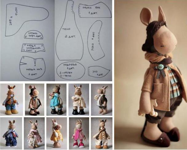 выкройка куклы татьяны коннэ