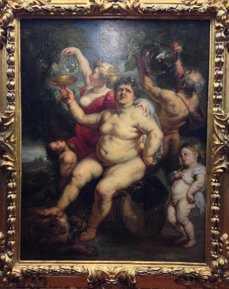 "Rubens painting ""Bacchus"""