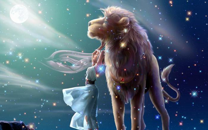 Кто подходит льву женщине