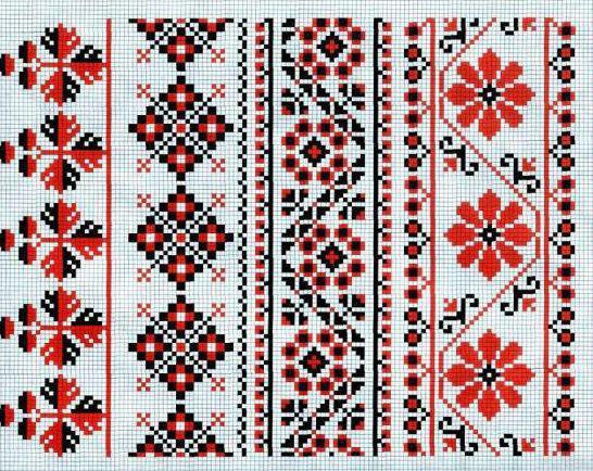 плетение гердана из бисера