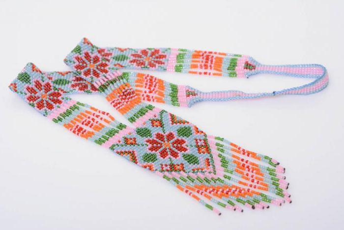 гердан из бисера схемы плетения