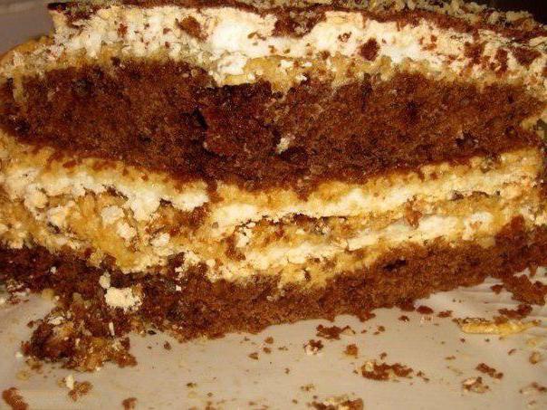 как приготовить торт лебединое озеро