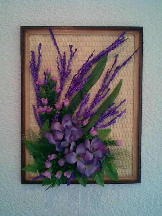 Paintings of flowers artificial: beautiful and easy